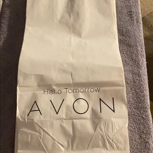 White Avon sacks all different sizes